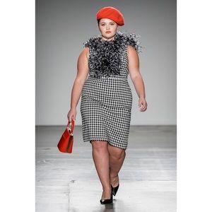 Lane Bryant Houndstooth Dress Sz 18/20